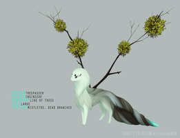 Parasite Collection - Mistletoe by witherlings