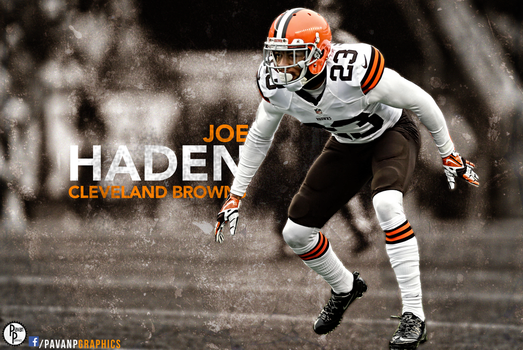 Joe Haden: Cleveland Browns by PavanPGraphics