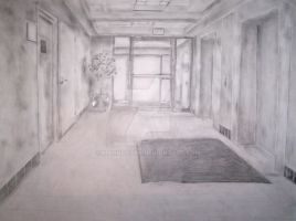 Perspective Drawing II by ManHoPark