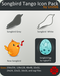 Songbird Tango Icon Pack by Unit66