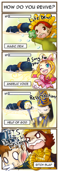 How do you revive? by animaloftheelements