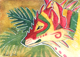 ACEO Summer Heat by ClimbToTheStars
