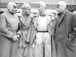 Bonetto|Sanesi|Farina| Fangio (Great Britain 1951) by F1-history