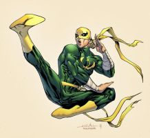Iron Fist by spidermanfan2099