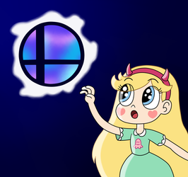 Star wants to touch a Smash Ball by Deaf-Machbot