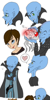 Megamind Sketches by Chico-2013