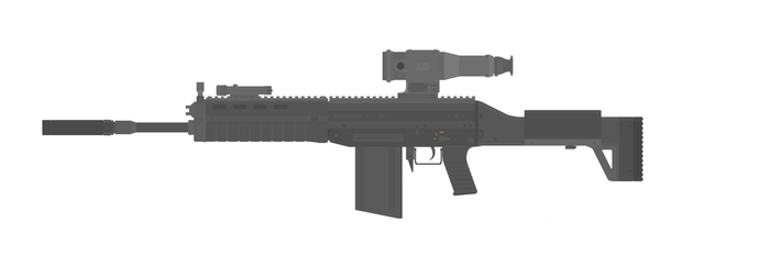 Automaitc Rifle Design CE-111 by KirkHal