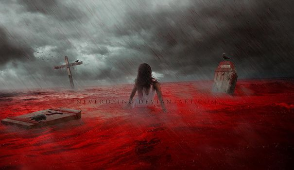 Sea of Blood by neverdying