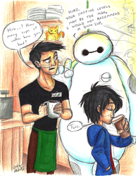BH6-Coffe Break by Stray-Sketches