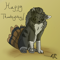 Happy Thanksgiving by WolfHeart225