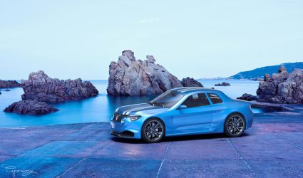 Renault 8 Gordini - concept V1 - 6 by cipriany