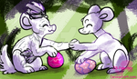 Egg Exchange - Evoloons by JB-Pawstep