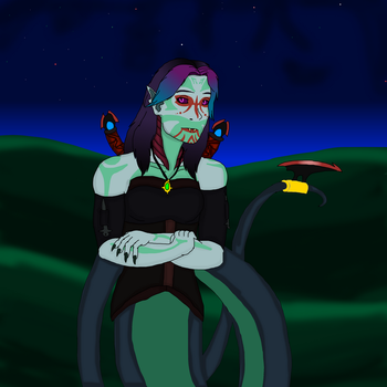 Lucinda The Lamia by Redspets
