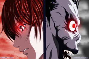 Death Note - Light and Ryuk by KhalilXPirates