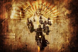 Sons of Anarchy by LillGrafo