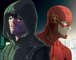 CW's Heroes by theCHAMBA