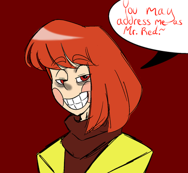 Chara Red Brown by ReneesRetrograde