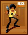 Brick Johnson. Private Dick by WarBrown