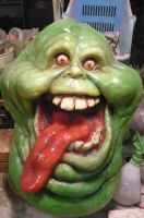 Slimer wall prop by DreamWeaverMasks