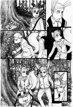 Issue 2 page, 5 inks by Benjamin-the-Fox