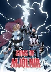 SONS OF MJOLNIR by Hiroim