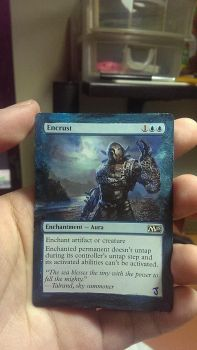 Magic the Gathering Alter - Encrust by ASliceOfUnagi