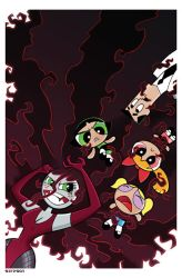 A Hairy Situation!  Sedusa vs. Powerpuff Girls by BillForster