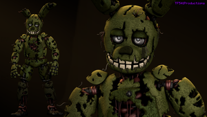 Failz's Edited Springtrap [4k] by TF541Productions