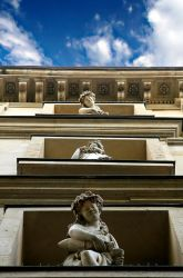 staring statues by Anestis9985