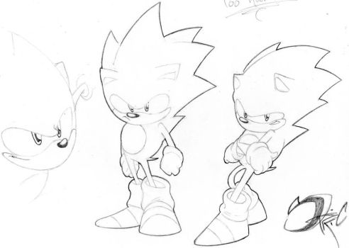And another sonic sketch by StriCNYN3