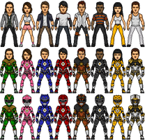 MMPR Movie Revamp Mk III by SpiderTrekfan616