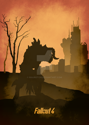Deathclaw - Fallout 4 by MauroTch
