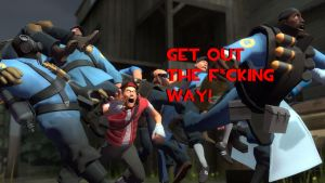 GET OUT THE F*CKING WAY! [Request] by Legoformer1000