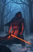 Kylo Ren by N8watcher