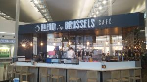 Cafe at Brussels Airport BRU by R3Create
