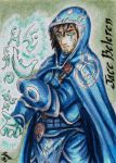 Jace Beleren - Playing Card by Jianre-M