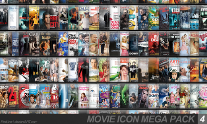 Movie Icon Mega Pack 4 by FirstLine1