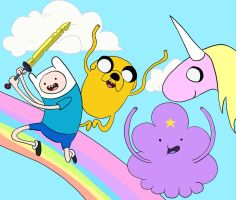 Adventure Time! by lookup4napkins