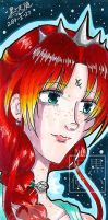 Traditional Large Bookmark Lady Titan by kuroitenshi13