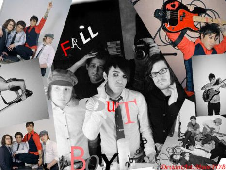 Fall Out Boy Collage by MnonFOB