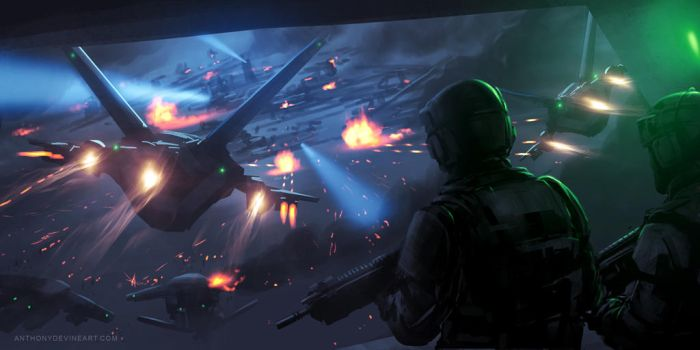 Tactical Assault sketch by AnthonyDevine