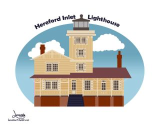 Hereford Inlet Lighthouse by Lunamis