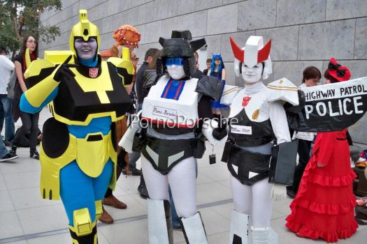 Transformers Group-Cosplay by AllThatJazz4