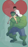 Hulk Love Betty by Drawaholic1124