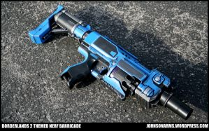 Borderlands 2 Themed Nerf Barricade by JohnsonArmsProps