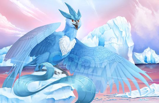 Articuno by CrowParty