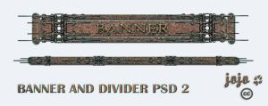 Banner and divider PSD 2 by jojo-ojoj