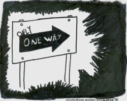 One Way By by Churichan