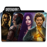 The Defenders : TV Series Folder Icon v2 by DYIDDO