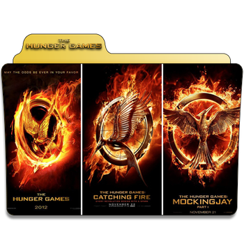 Hunger Games Collection Folder Icon by Je-Vi